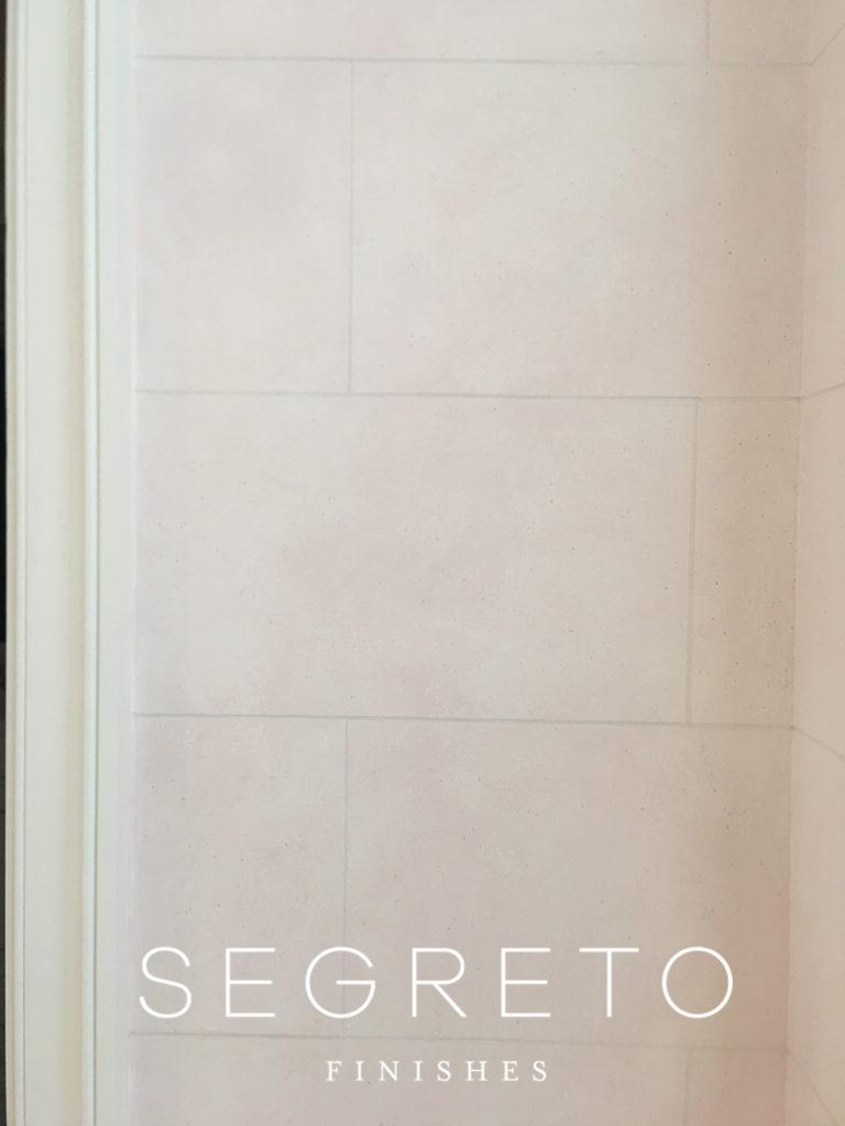 Segreto Finishes Bathroom Vestibule