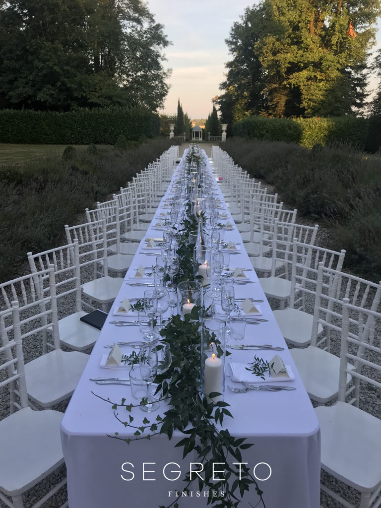 Segreto Finishes Wedding France