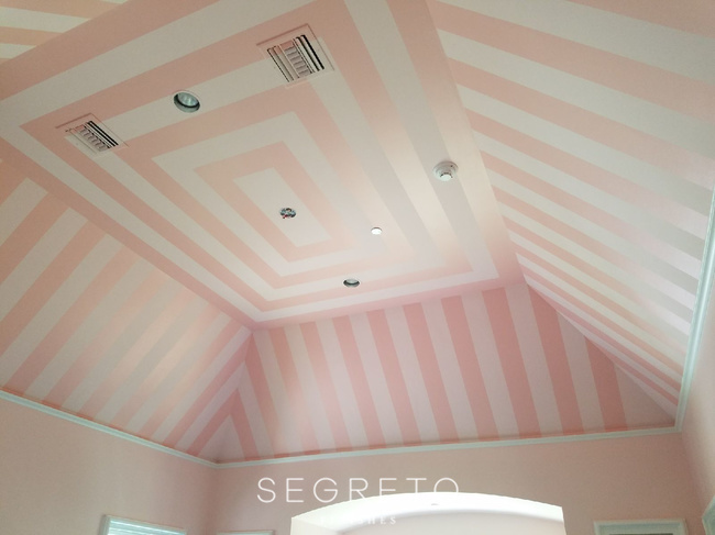 Segreto Finishes Ceiling Pattern