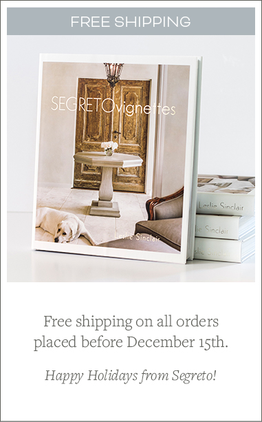 segreto finishes free shipping holidays