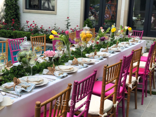Past Easter Tables