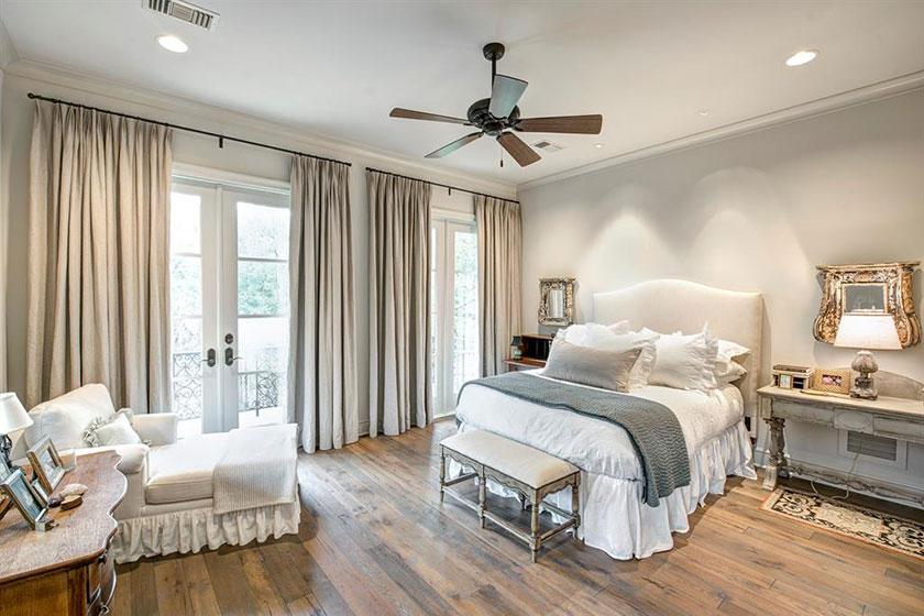 cozy bedroom on second floor