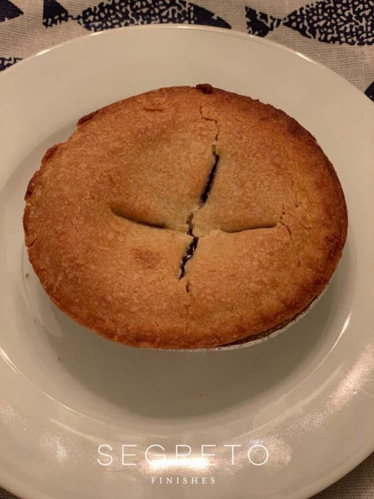 blueberry single serving pie