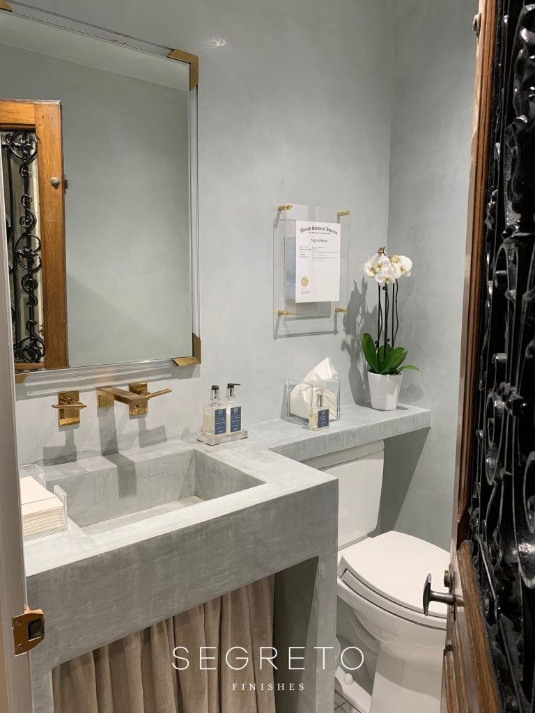 SegretoStone Integrated Sink