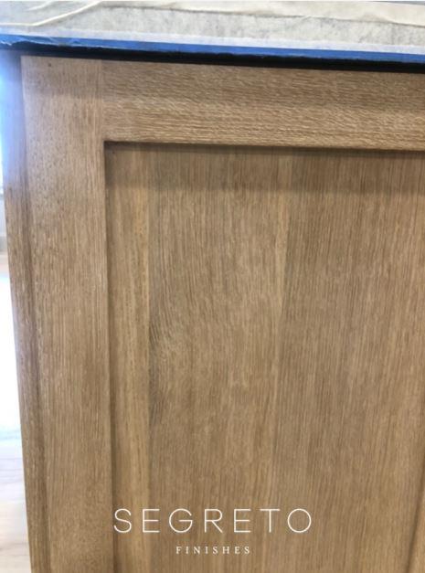 Cerused wood