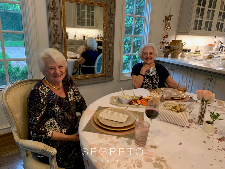 Leslie's Mother and Aunt, Stay connected and spread joy!