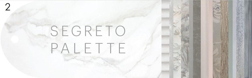 Pick That Cover, Segreto Palette