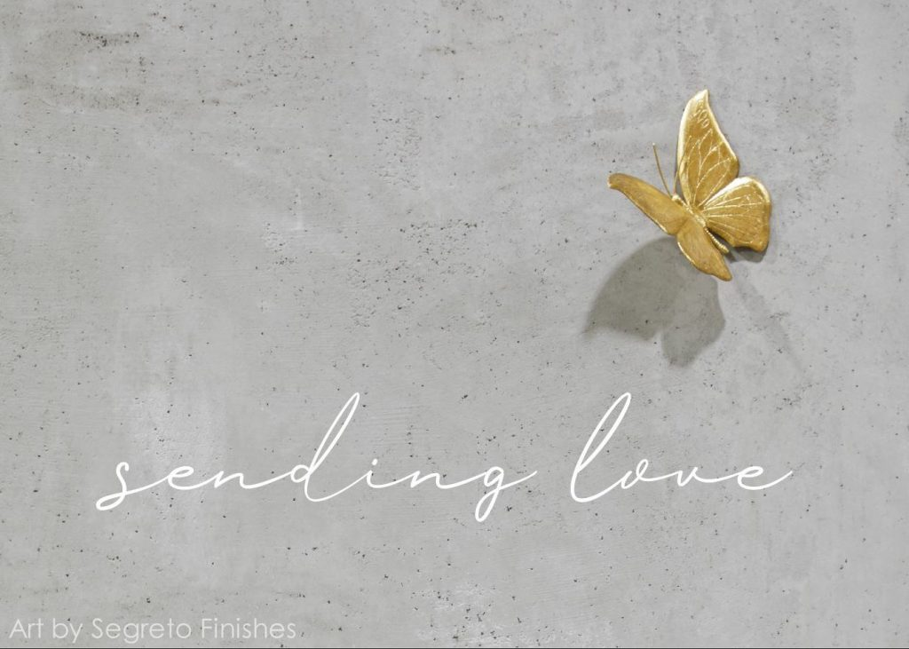 Sending love- art by Segreto Finishes