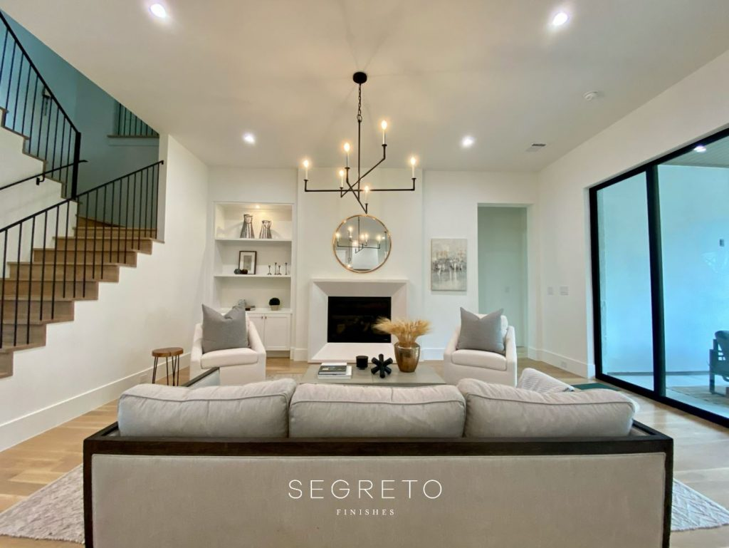Segreto Stone Fireplace