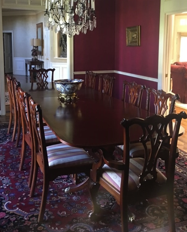 Dining room before Segreto Finishes