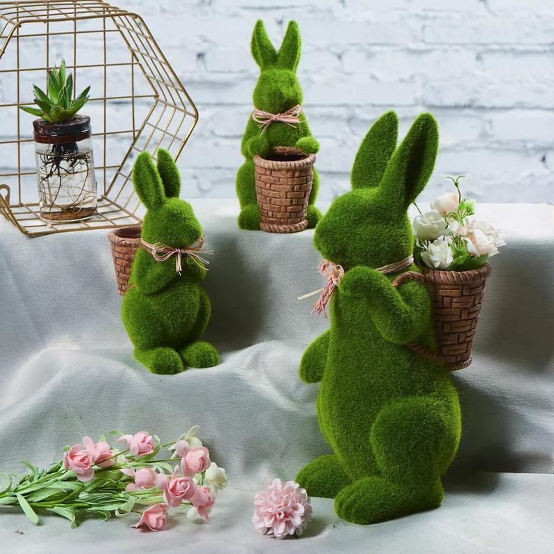 Moss-Covered Bunnies