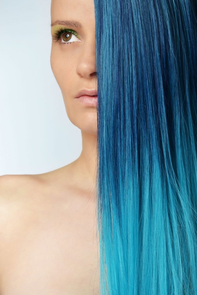 Dramatic Ombre Hairstyle