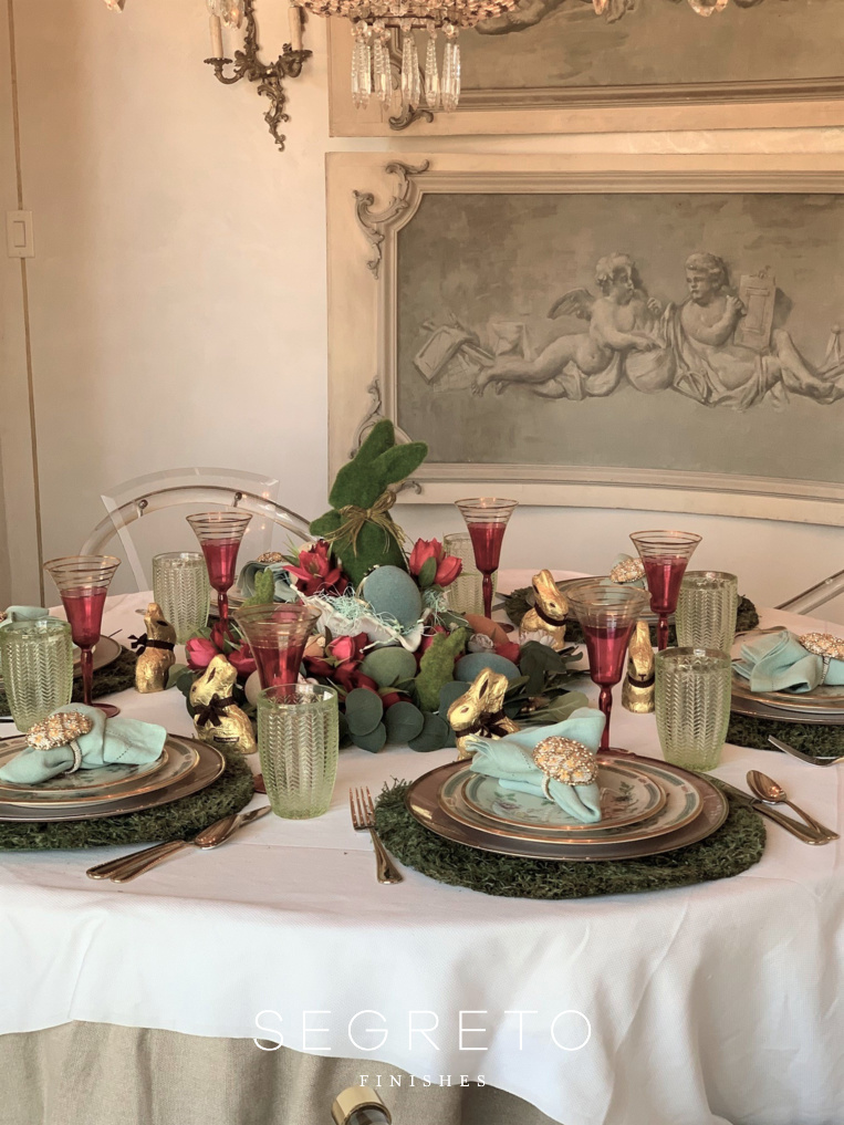 Final Easter Table
