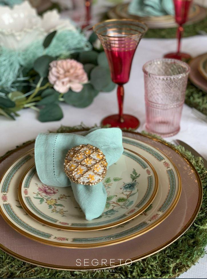 Easter Lenox Plates