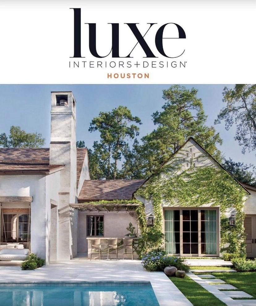 Luxe Interiors + Design Houston Cover